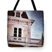 Victorian House Tote Bag by Jill Battaglia