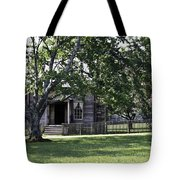 View Of Jones Law Offices Appomattox Virginia Tote Bag by Teresa Mucha