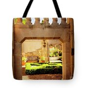 View Of The Garden Tote Bag by Tamyra Ayles