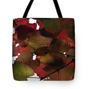 Vine Leaves Tote Bag by Douglas Barnard