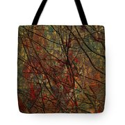 Vines And Twines  Tote Bag by Jerry Cordeiro