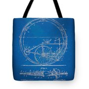 Vintage Monocycle Patent Artwork 1894 Tote Bag by Nikki Marie Smith