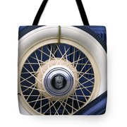 Vintage Nash Tire Tote Bag by Kay Novy