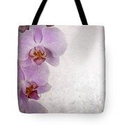 Vintage Orchids Tote Bag by Jane Rix