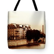 Vintage Paris 5 Tote Bag by Andrew Fare