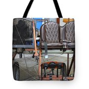 Vintage Wright Brothers Type Airplane . 7d11148 Tote Bag by Wingsdomain Art and Photography