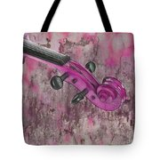 Violinelle - Pink 03b2 Tote Bag by Variance Collections