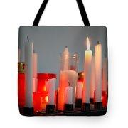 Votive Candles Tote Bag by Gaspar Avila