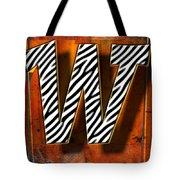 W Tote Bag by Mauro Celotti