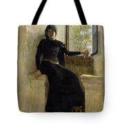 Waiting Tote Bag by Jean Pierre Laurens