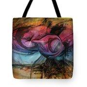 Wandering Star Tote Bag by Linda Sannuti