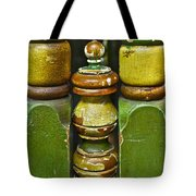 Warm With Human Touch Tote Bag by Gwyn Newcombe