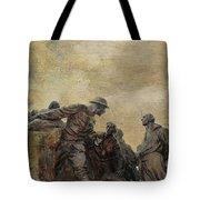 Wars Of America Tote Bag by Paul Ward