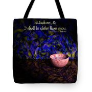 Wash Me Tote Bag by Christopher Gaston