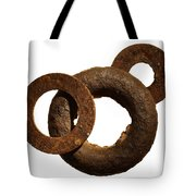 Washers Tote Bag by Tony Cordoza