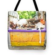 Waste Skip Tote Bag by Tom Gowanlock