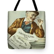 Watch Trade Card, C1880 Tote Bag by Granger