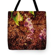 Water Flowers Vietnam Tote Bag by Skip Nall