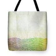 Water Pattern On Old Paper Tote Bag by Setsiri Silapasuwanchai