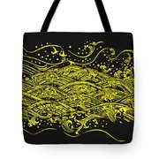 Water Pattern Tote Bag by Setsiri Silapasuwanchai