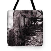 Water Wheel Old Mill Cherokee North Carolina  Tote Bag by Susanne Van Hulst