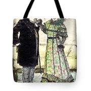 W.c.fields And Jan Tote Bag by Mel Thompson