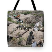 Weapons Caches Tote Bag by Stocktrek Images