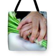 Wedding Rings Tote Bag by Carlos Caetano