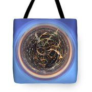 Wee Paris Twilight Planet Tote Bag by Nikki Marie Smith
