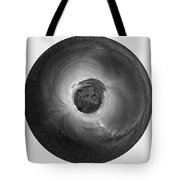 Wee Sequoia Night Sky Planet View Tote Bag by Nikki Marie Smith
