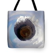 Wee Tongariro Volcanoes Tote Bag by Nikki Marie Smith