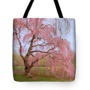 Weeping Spring- Holmdel Park Tote Bag by Angie Tirado