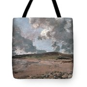 Weymouth Bay With Jordan Hill Tote Bag by John Constable