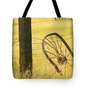 Wheel Looking For A Tractor Tote Bag by Rich Franco