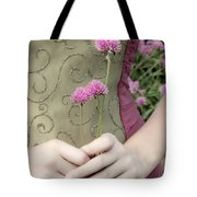 Where Have All The Flowers Gone Tote Bag by Angelina Vick