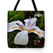 White African Iris Tote Bag by Gwyn Newcombe