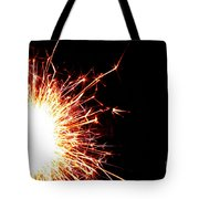 White Center Tote Bag by Susan Herber