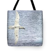 White Nelly Tote Bag by Tony Beck