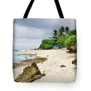 White Sand Beach Moal Boel Philippines Tote Bag by James BO  Insogna