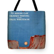 Wide Open Spaces Tote Bag by Mel Thompson