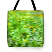 Wildflowers and Wind 2 Tote Bag by Skip Nall