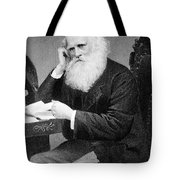 William Cullen Bryant, American Poet Tote Bag by Photo Researchers