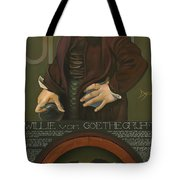 Willie Von Goethegrupf Tote Bag by Patrick Anthony Pierson
