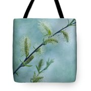 Willow Catkins Tote Bag by Priska Wettstein
