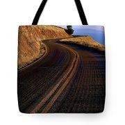Winding Road Tote Bag by Garry Gay