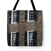 Windows At The Clover Hill Tavern Appomattox Virginia Tote Bag by Teresa Mucha