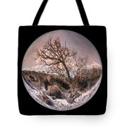 Windswept At Driftwood Beach II Tote Bag by Debra and Dave Vanderlaan