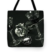 Wine For Two Tote Bag by Joana Kruse