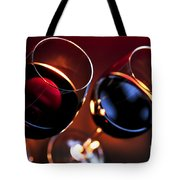 Wineglasses Tote Bag by Elena Elisseeva