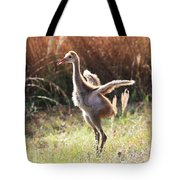 Winging It In The Morning Tote Bag by Carol Groenen